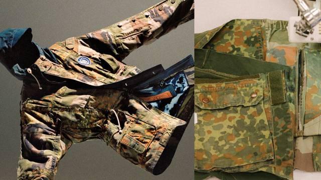 Loewe eko kolekcija kreirana je od rabljenih vojničkih šatora