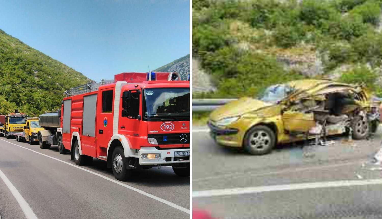 Još se ne zna zašto se prikolica hladnjače otkačila: Poginula je djevojka, vozač teško ozlijeđen