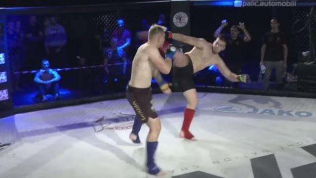 FNC Amaterska MMA liga: Brzi završetak teškaša, Vuković je nakon tri minute sredio Jurića