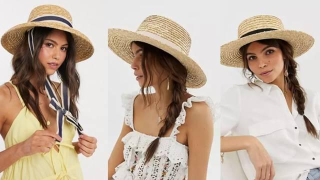 Slamnati šeširi: Spoj elegancije i retro stila za razne modne igre