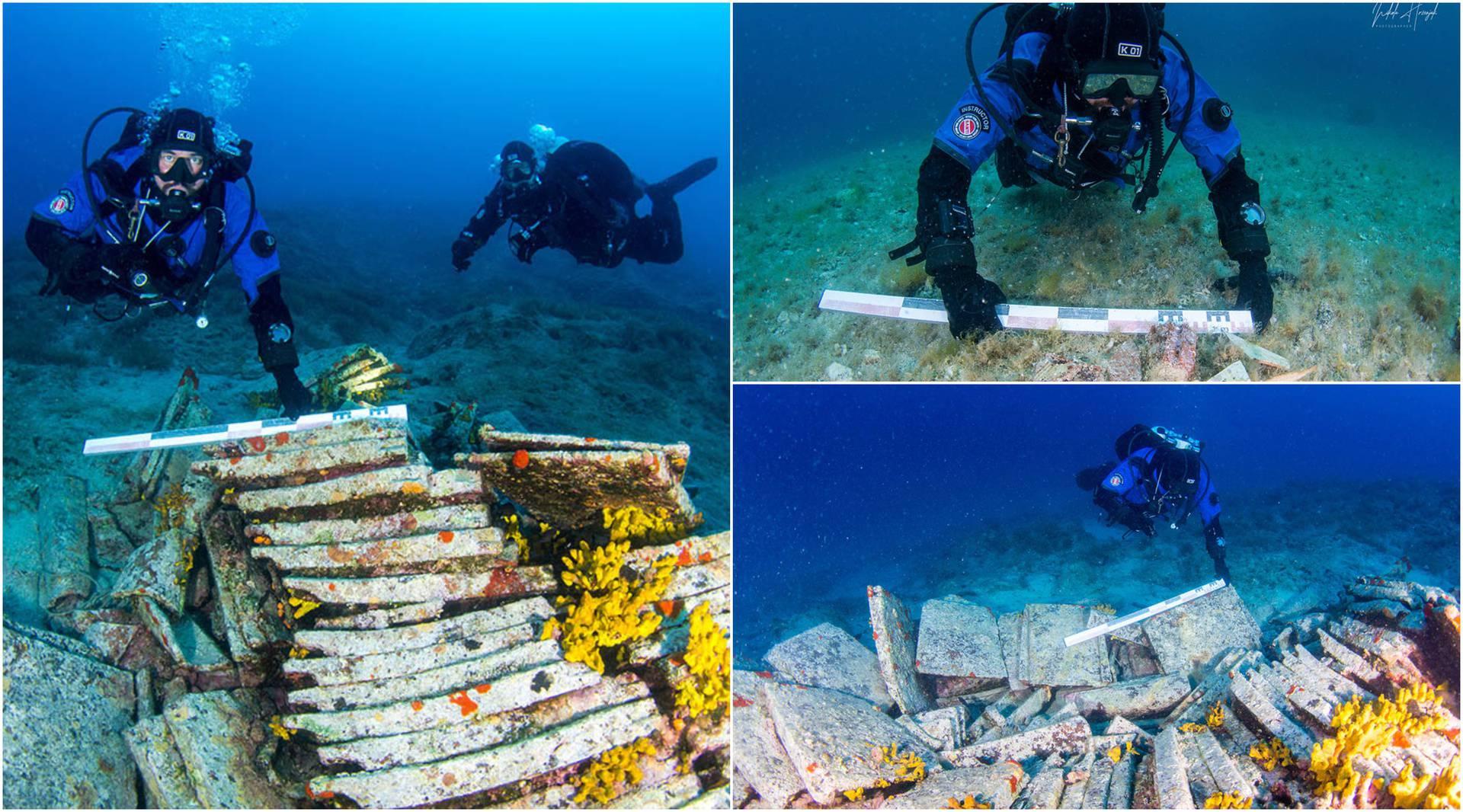 Kod Novalje su otkrili ostatke antičkog broda: 'Ronioci nisu   ni znali što se krije na dnu mora...'