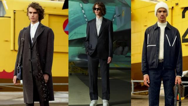 Louis Vuitton muška kolekcija: Fino odijelo uz bijele tenisice
