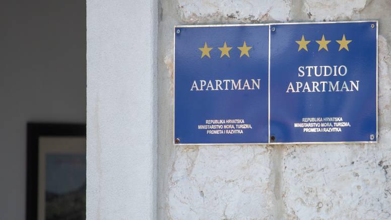 Udar na  iznajmljivače: Odvoz smeća plaćat će kao hoteli
