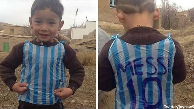 Bježao od talibana: Morao je ostaviti loptu i dres od Messija