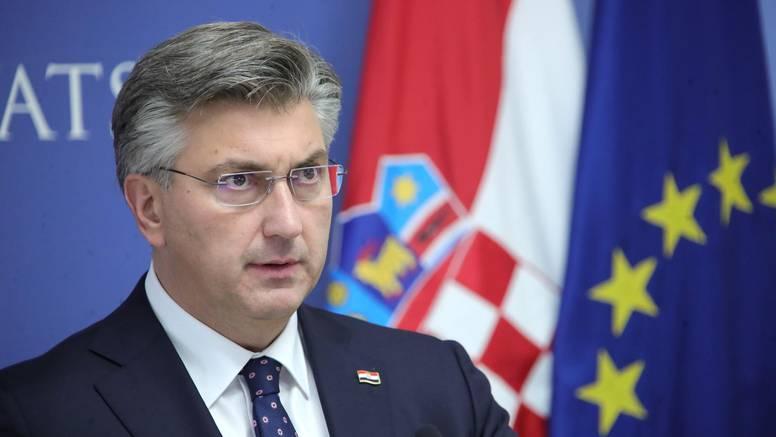 Plenković: Očekujem da će nadležni do kraja utvrditi motive napada na Banske dvore