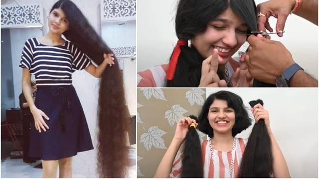 Ošišala kosu od 2 metra nakon 12 godina: Ja sam mala princeza