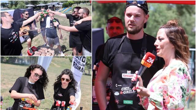Simpatični Splićani pripremili vrhunski grill: 'Najbolja smo i najluđa ekipa za roštiljanje'