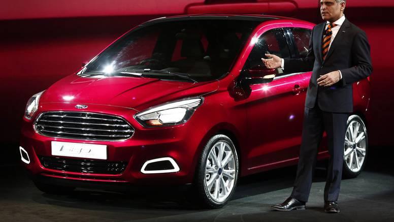 Mali Ford za tržišta u razvoju: Novi Figo su predstavili u Indiji