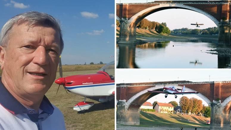 Izveo spektakl u Sisku: 'Ispod mosta sam letio 160 km na sat'