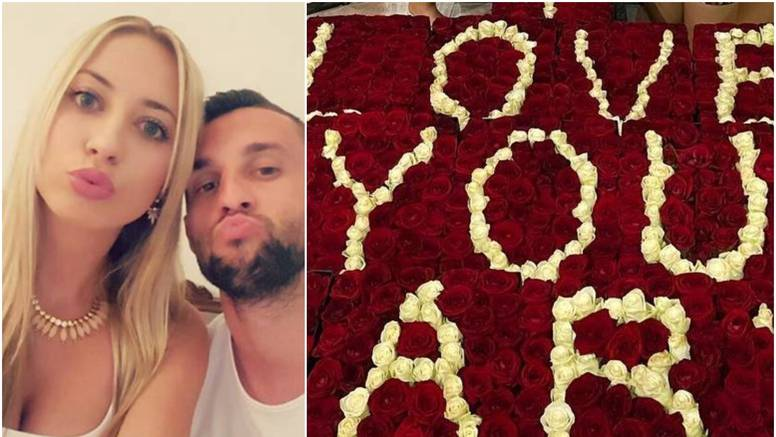 Brozovićeva supruga pohvalila se romantičnom gestom muža