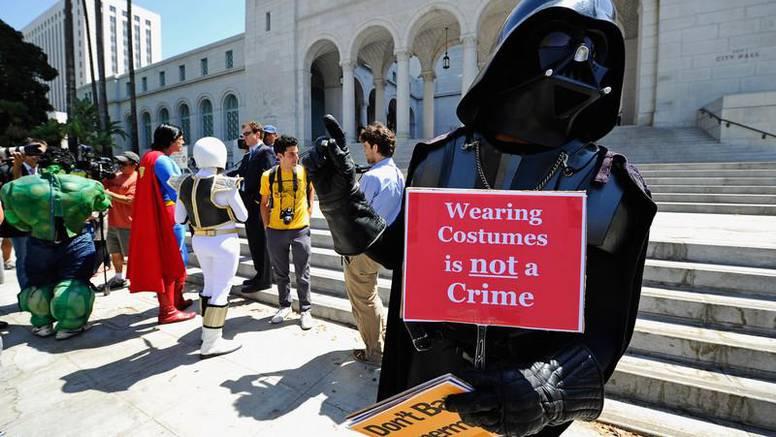 Superheroji prosvjeduju protiv kršenja svojih prava