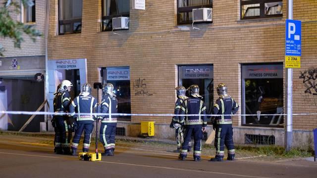 Zagreb: Vatrogasci izašli na teren zbog urušavanja zgrade u Kranjčevićevoj