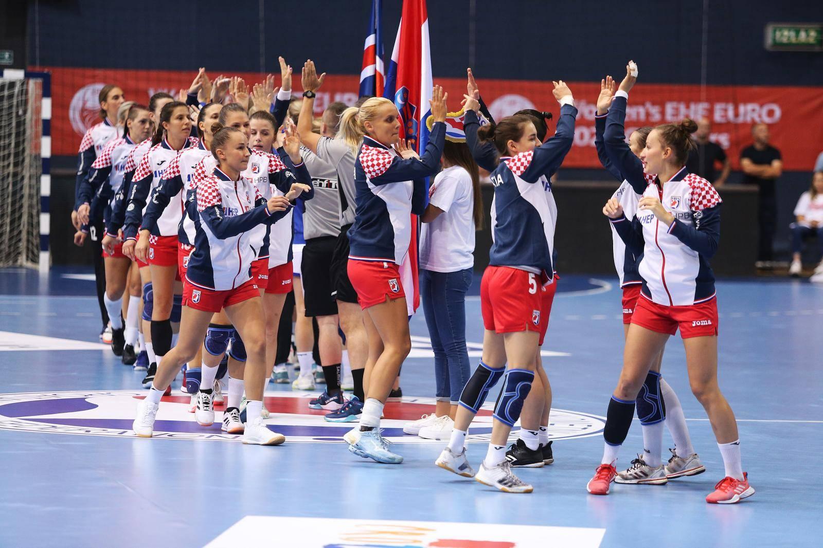 Osijek: Kvalifikacijska utakmica za žensko rukometno EP, Hrvatska - Island