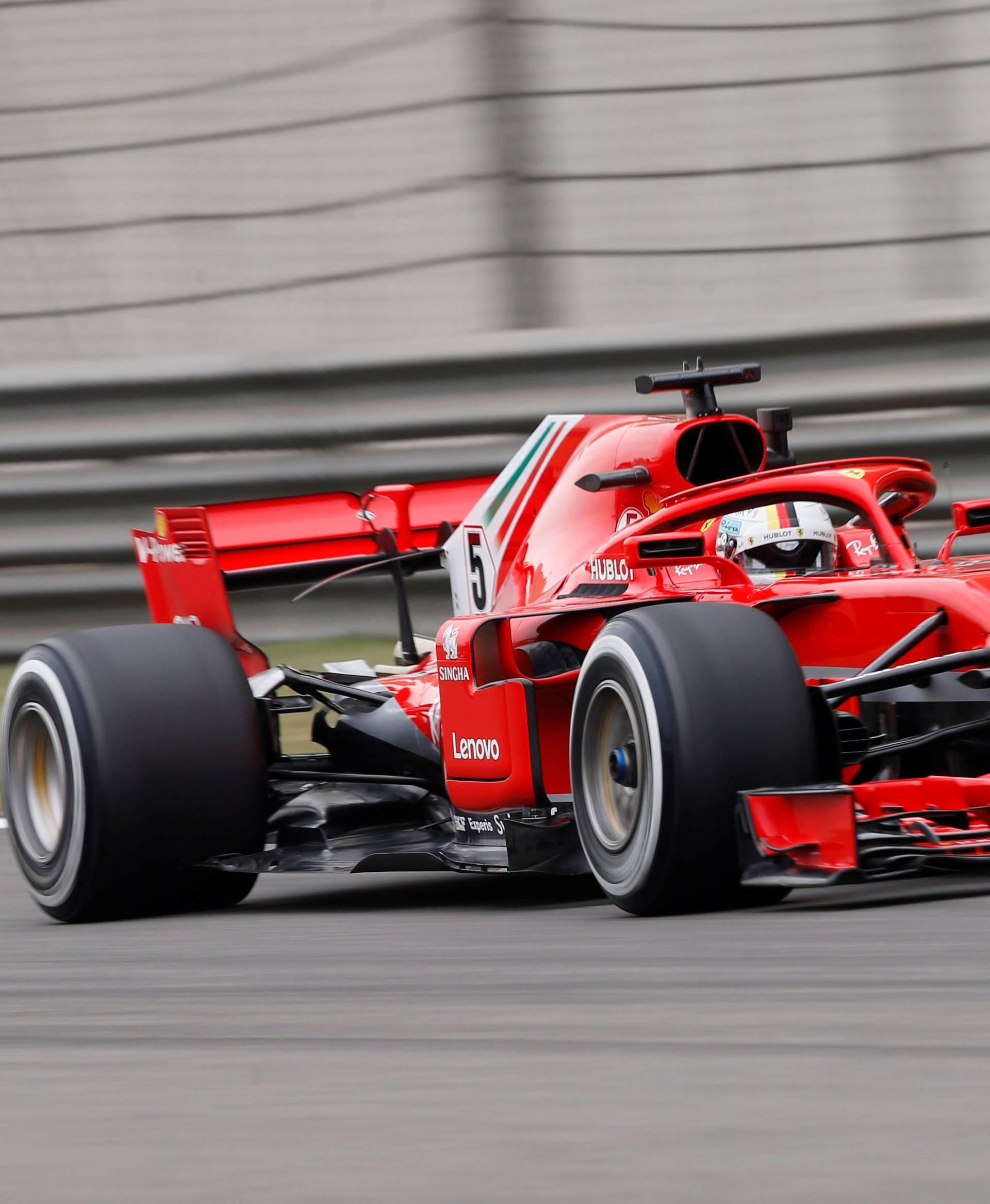 Motor racing - Chinese Grand Prix free practice
