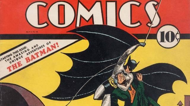 Strip Batman iz 1940. prodao se na dražbi za 2,2 milijuna dolara