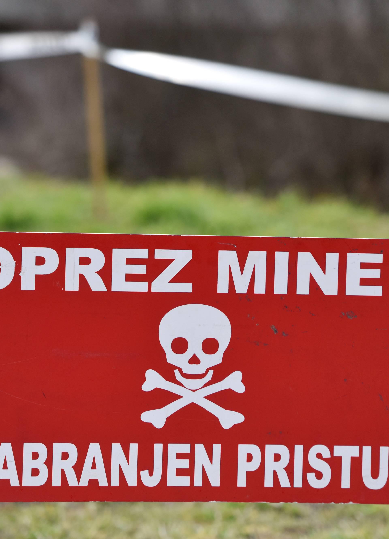 Blizu Poreča: Čistio raslinje i pronašao protutenkovsku minu