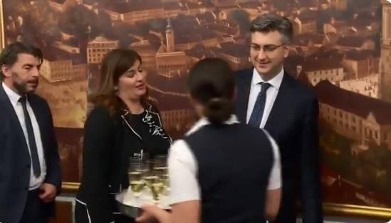 Plenković 'zabranio' alkohol za Žalac: 'Ona ne smije nikad...'