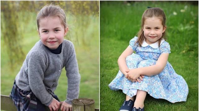 Princeza Charlotte (4) slavi rođendan: 'Sliči na prabaku...'