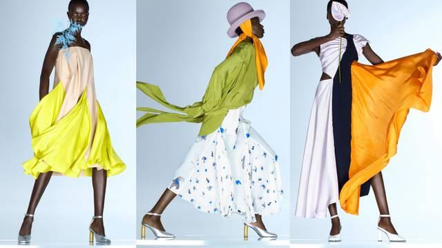 Nina Ricci kreacije inspirirane cvijećem i bojama zalaska sunca