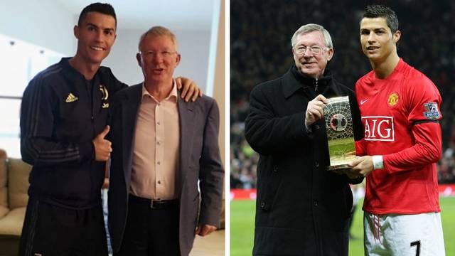 Ronaldo i Ferguson opet skupa: Šefe, drago mi je da ste bolje...