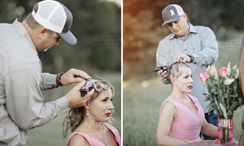 Dirljiva priča: Muž joj obrijao glavu kad je otkrila da ima rak