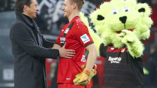 Football Soccer - Bayer 04 Leverkusen v Hertha BSC Berlin - German Bundesliga