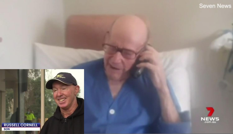 Unatoč godinama: 95-godišnji Victor Cornell oporavio se od korone nakon 24 dana borbe