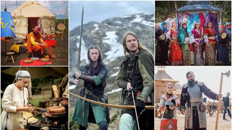 Žive i oblače se kao da su u srednjem vijeku, a poslužuju i jela koja su tada bila popularna