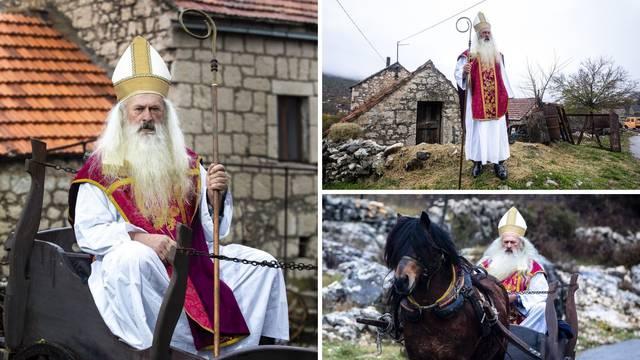 U Imotskoj krajini svi znaju za svetog Nikolu iz Krstatice: 'Osmijeh djece mi je najveći dar'