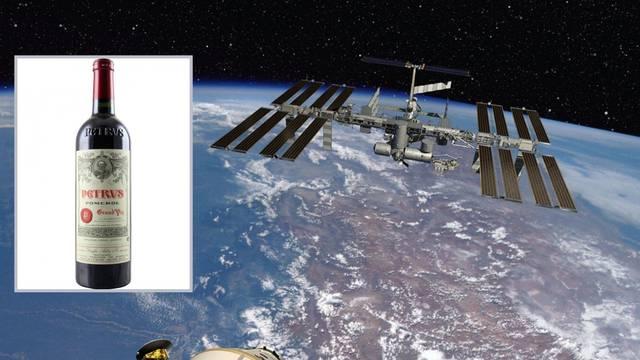 'Vinarija' na ISS-u: U svemiru vino brže  'stari' nego na Zemlji