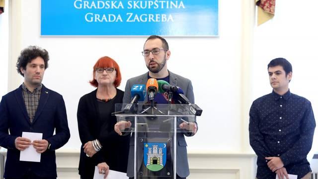 Zagreb: Konferencija za medije Lijevog bloka