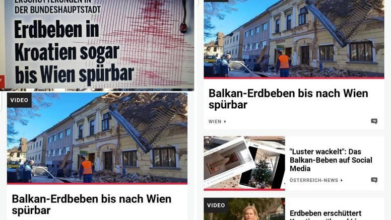 Potres u Hrvatskoj zatresao je i Beč: Tresli su se prozori i ormari