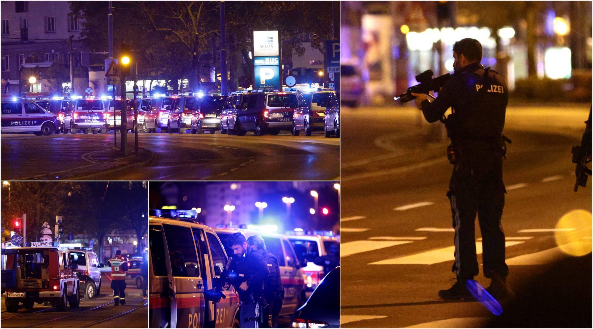 Dramatične fotografije iz Beča: Policajci su na svakom uglu, građanima poručili da ne izlaze