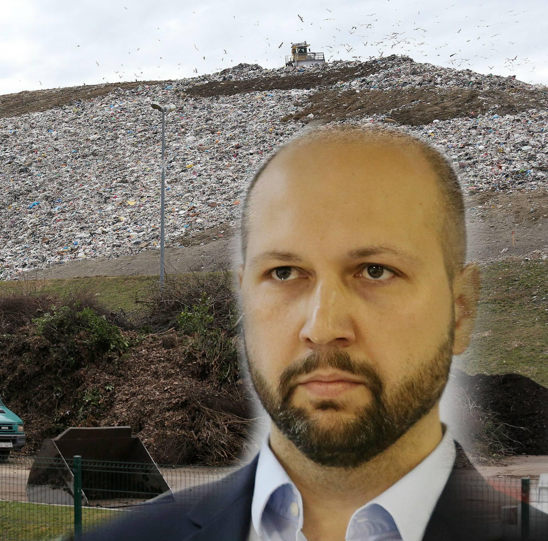Za previsoke račune za odvoz smeća kriv je aktualni ministar