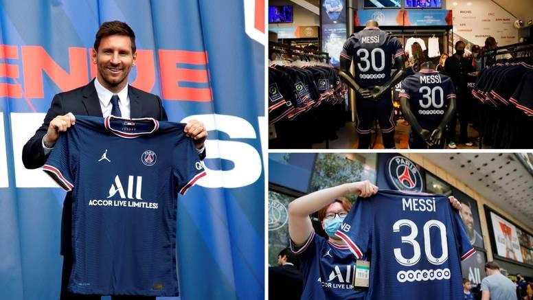 Totalna ludnica: Messijev dres rasprodan, zarada 40 mil. eura!