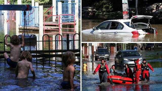U poplavama 46 poginulih, u New Yorku 13 ljudi poginulo u potopljenim podrumima