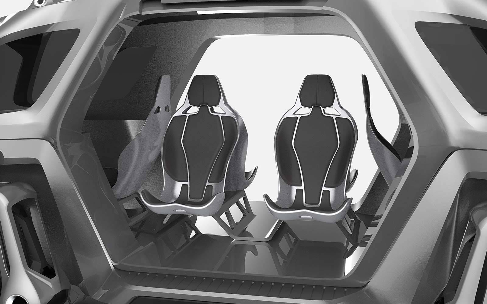 Nezaustavljivi Hyundai: Njihov auto s nogama ide gdje poželi