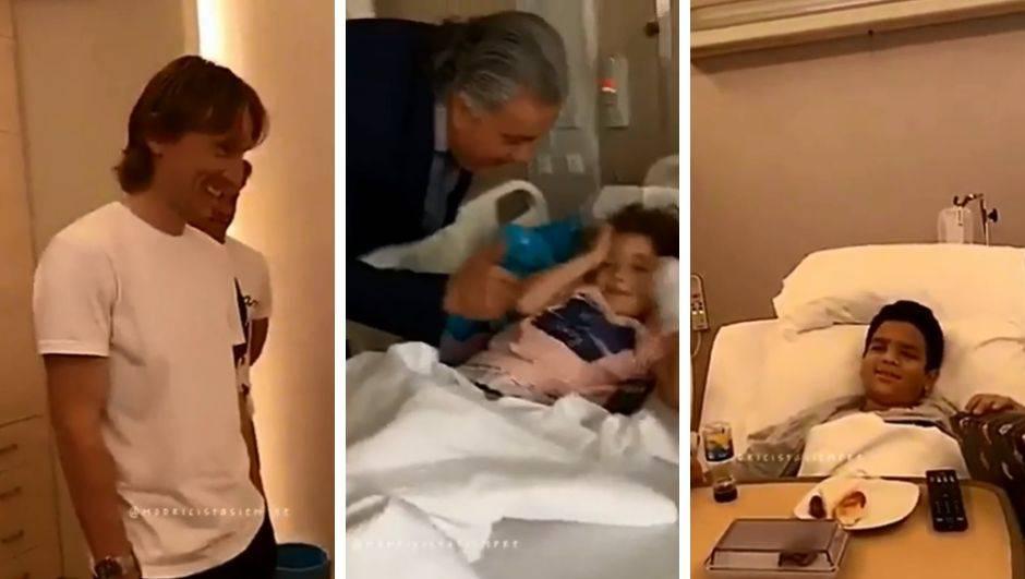 Veliki Luka! Posjetio je bolesnu dječicu u Kuvajtu i darivao ih...
