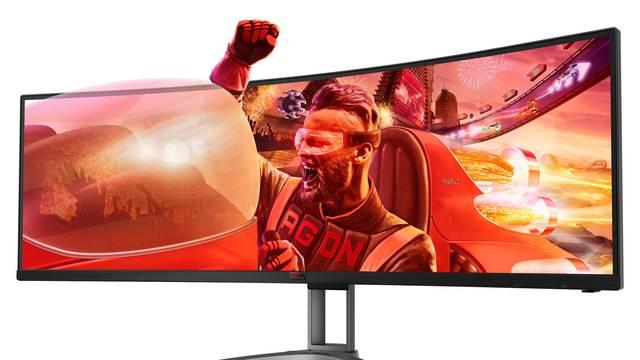 Dva u 1: AOC ima novi divovski monitor od 49 inča za gamere