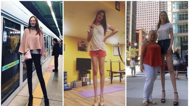 Noge preko metra: Njene su 132,5 cm, a voli nositi i štikle
