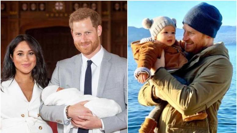 Kraljevski par uz novu fotku  Archieja poželio sretnu 2020.