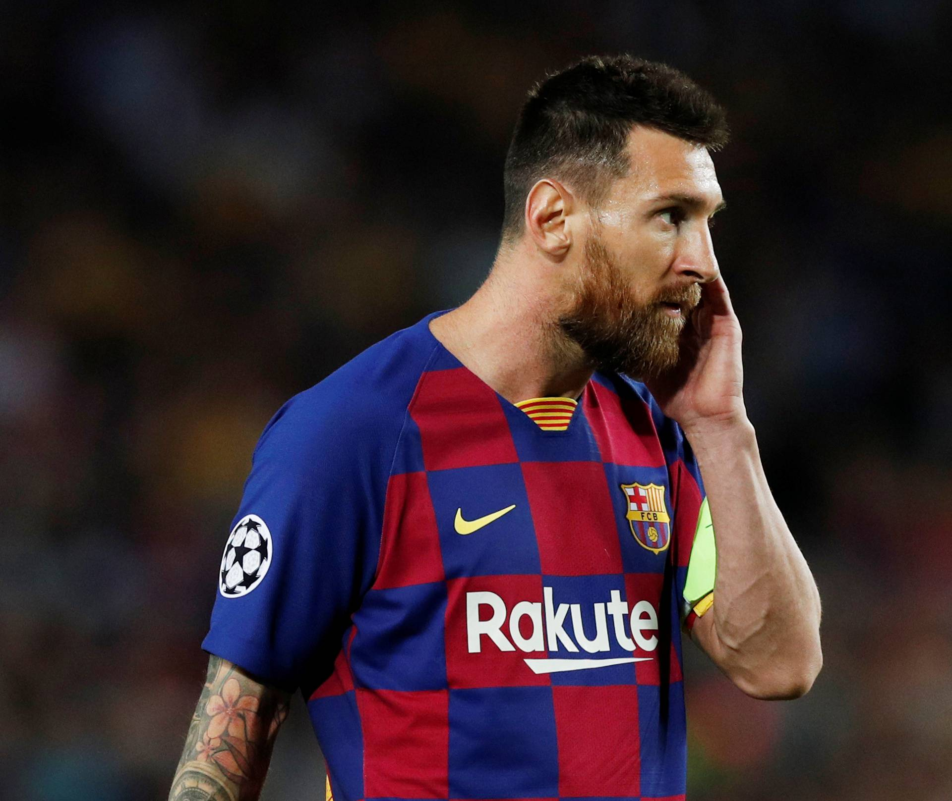 Champions League - Group F - FC Barcelona v Inter Milan