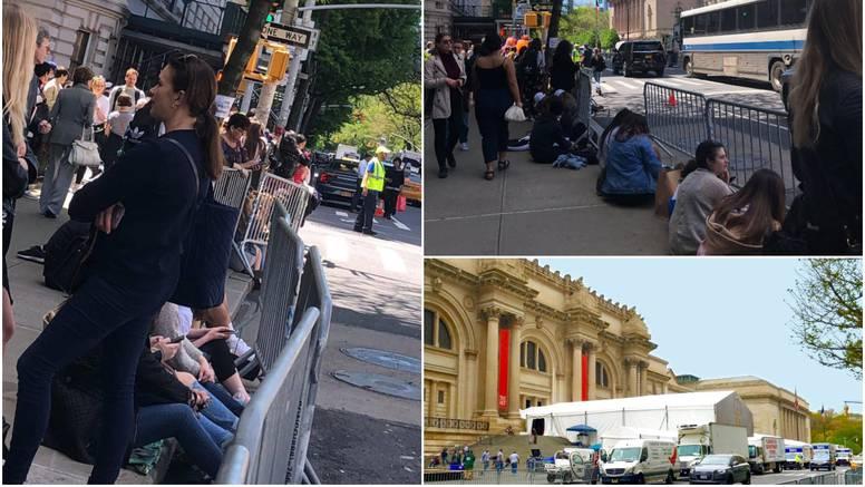 Ludilo uoči Met Gale: Fanovi kampiraju na ulici u New Yorku