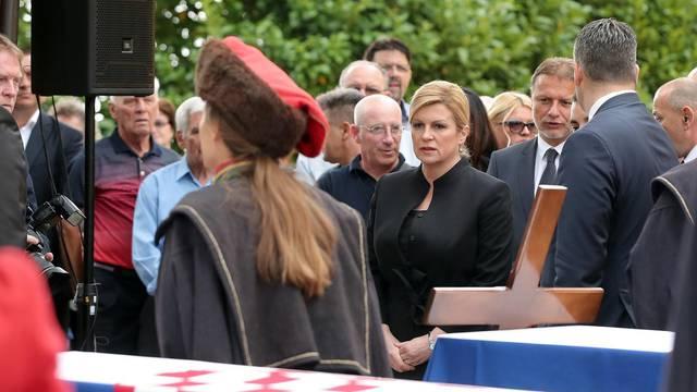 Pokop posmrtnih ostataka 294 žrtve Drugog svjetskog rata i poraća ekshumirane u Gračanima