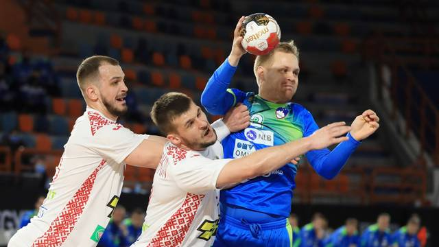 2021 IHF Handball World Championship - Preliminary Round Group H - Slovenia v Belarus