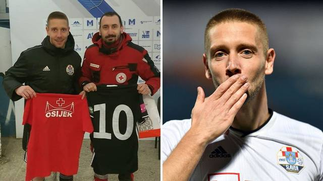 Lijepa gesta za Banovinu: Igrač Slavena pomagao je u Petrinji pa ispunio obećanje Osječaninu