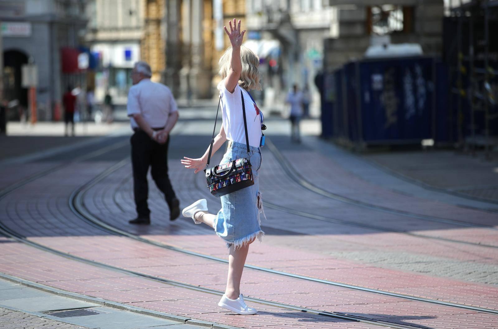 Zagreb: Mirno i ugodno prijepodne u centru grada