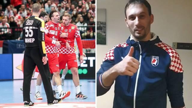 Karačić: Ne brinite, igrat ću polufinale i s jednom nogom!