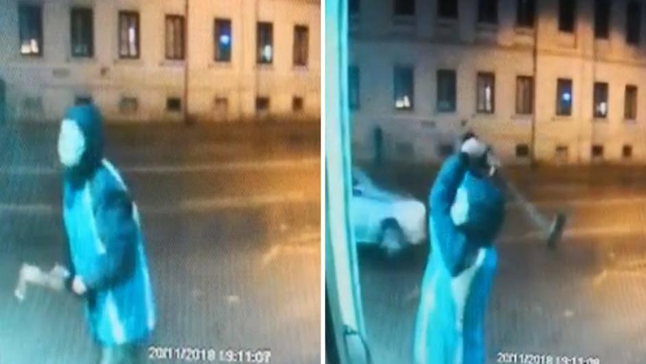 Uhitili su manijaka sa sjekirom: Razbijao je izloge i ukrao nakit