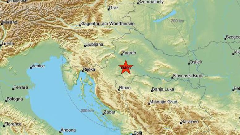 Novi slabiji potres u središnjoj Hrvatskoj: Zatreslo mi je krevet